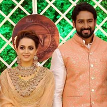 Actress Bhavana And Naveen Reception