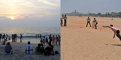 Types of people we all see at Marina beach!