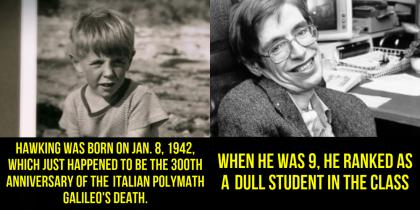 Unknown facts you should know about Stephen Hawking