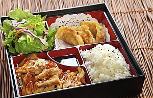 Services to order food from Japan to India