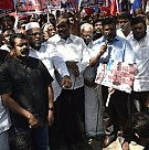 Seeman, Thirumavalavan Protests Against The Killings in Syria