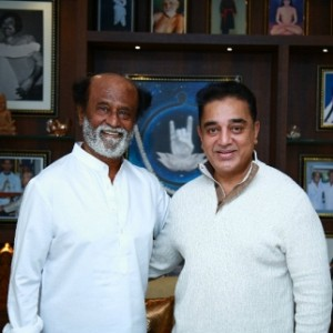 Rajinikanth's treasured personalities in his living room
