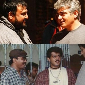 Which director has worked with top Tamil heroes the most?