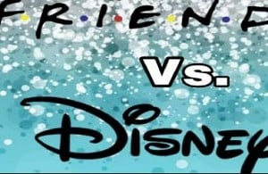 F.R.I.E.N.D.S. Vs. Disney Crossover! Who did it better?