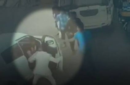 BJP MLA's son caught on camera thrashing man for blocking his way on road
