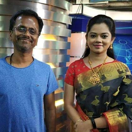 Anchor Anitha Sampath talks about her working experience in Vijay's Sarkar