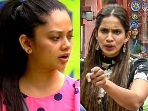 Anitha's pakka argument with Samyuktha - Fight over groupism continues!