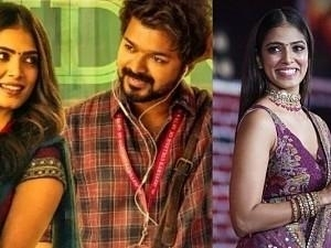'On Screen chemistry with Thalapathy' - Malavika Mohanan's amazing response is winning hearts!