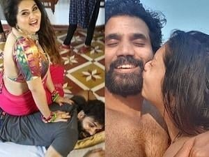 Namitha's romantic pictures with hubby dearest Veerendra is the talk of the town!