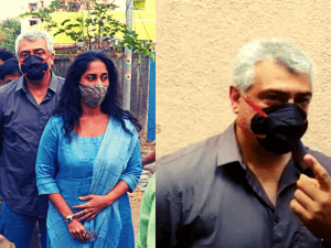 Viral: Pics and Video of Thala Ajith and Shalini casting their votes are trending!