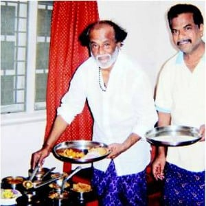 I want to arrange a non veg feast for you all - Rajinikanth