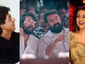 SRK, Mammootty, Mohanlal and Juhi Chawla in a single frame - An unbelievable quad throwback! Check this viral pic!