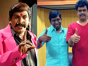 Vadivelu's comeback film's impressive TITLE announced with a attakasamana FIRST LOOK - Don't miss the comedian's transformation!