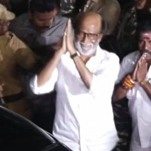 Rajinikanth meeting Karunanidhi | Full video