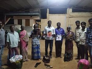 Vijay fans come to rescue of cobbler; Turn no Deepavali into cracker of a festival
