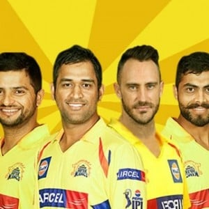 Chennai Super Kings - IPL 2018 match dates