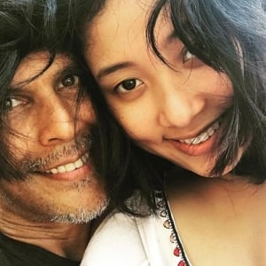 Milind Soman's pictures with his wife go viral