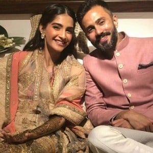 Sonam Kapoor's Mehendi ceremony photos
